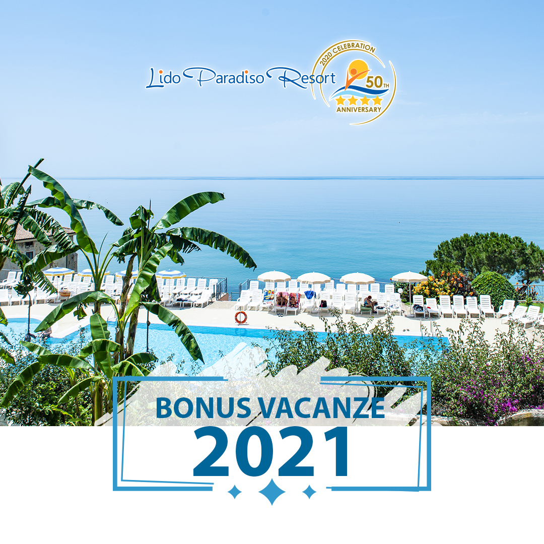 bonus vacanze 2021 cilento bungalow residence